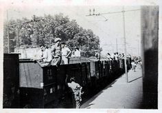 1945 Italy Cassino Refugee Train