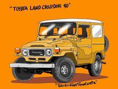 Ford Pickup Trucks, 4x4 Trucks, Toyota Fj40, Steel Buildings, Toyota Land Cruiser, Monster Trucks, Vehicles, Jeeps, Logo