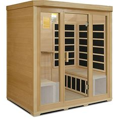 Saunas - Crystal Sauna BH400 4Person Infrared Sauna ** You can get additional details at the image link. (This is an Amazon affiliate link)