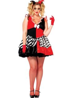 Adult Court Jester Costume Plus Size - Party City