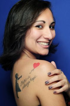 There Is Always Hope Banksy   25 There Is Always Hope Banksy Balloon Girl Tattoo http ...