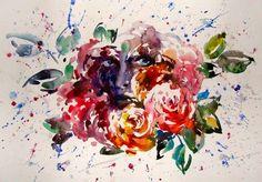Watercolor — 2009, 60х80