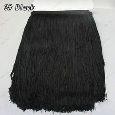 30CM Long Polyester Tassel Fringe Trim African Lace Ribbon Guipure For Sewing Garment Latin Dress Accessories Diy Free Shipping