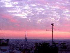 Paris...Ciel rose