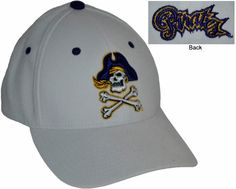 ECU- Z-Fit Hat  $21.99  Conference Apparel & College Sports Apparel - Conference Wear - Salisbury, North Carolina College Hats, Sports Apparel, Salisbury, Sport Outfits, North Carolina, Conference, Baseball Hats, How To Wear, Fashion