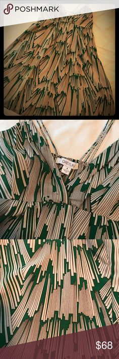 """Cute Strappy Summer Dress ☀️ Strappy and sassy baby doll cut always in style. I wore it once. Originally from Revolve Clothing. shoulder to hem approx 33"""". Graylin Dresses Mini"""