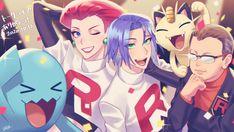 Equipe Rocket Pokemon, Pokemon Team Rocket, Pokemon Ships, Pokemon Funny, Pokemon Jessie And James, James Pokemon, Jessie Team Rocket, Jessy James, Pokemon Couples
