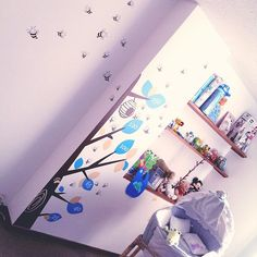 Diseño de Regla medidora para niños Árbol de panal de abejas En Bogotá tel 3176746222 - 4060080 contactanos@gfdecoraciones.com Home, Vinyls, Lounges, Interior Design, Blue Prints