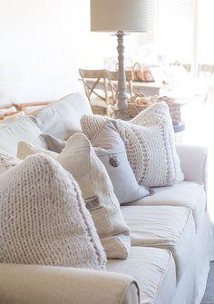Autumn's White Cottage