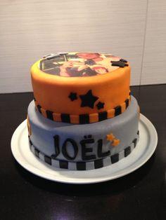 Verjaardagstaart voor Joel. Augustus 2013