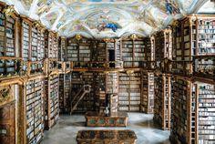 St. Florian Abbey Library, Sankt Florian, Austria.