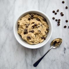 This fast, easy no-bake cookie dough recipe takes just 10 minutes. Learn how to make it at Food & Wine.
