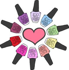 Paint clipart fingernail - pin to your gallery. Explore what was found for the paint clipart fingernail Nail Lacquer, Opi Nail Polish, Nail Polish Designs, Opi Nails, Nail Polishes, Gel Nail, Nail Salon Design, Gel Nagel Design, Nail Room