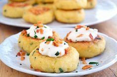 Loaded Mashed Potato Cakes | 35 Next-Level Appetizers For Your Holiday Party