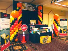 Construction Zone Theme | ADI Expo with a Construction Zone theme