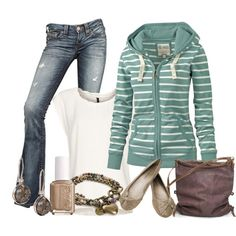 """""""Fat Face Hoodie"""" by ljjenness on Polyvore"""