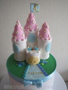 Custom Princess Castle Cake Topper by LikeButter on Etsy