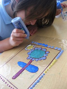 Stained Glass Art in Pre-K | Art Lessons For Kids