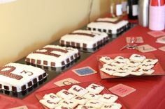 Scrabble surprise 30th birthday party, scrabble cakes an cookies