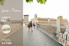 La dolce vita, e-session a Roma | 2012 A Q Studio
