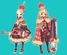 Gorgeous pixel art from しょさ. Sequel Here. Part Three Here. And Part Four Here.