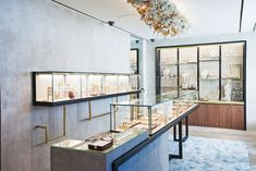 Ippolita Rostagno opens on the Upper East Side; Katherine Hooker to have a pop-up store downtown; Christian Louboutin to speak at The New Yorker Festival.