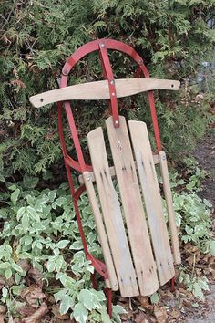 antique-christmas-sled-before