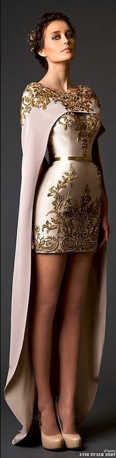Krikor Jabotian Couture S/S 2015 - there is something so beautiful about this. Wow! Writing inspiration!