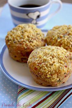 PECADO DA GULA: Mini pães salgados (não precisa sovar)