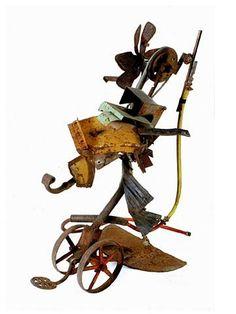 Jean Tinguely Jean Tinguely, Modern Sculpture, Wood Sculpture, Sculptures, Nouveau Realisme, Spirits Of The Dead, Imperfection Is Beauty, Kinetic Art, Junk Art