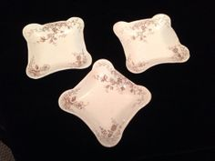 3 Vintage Excelsior Iron Stone Butter Pats by SylviasFinds on Etsy, $10.00