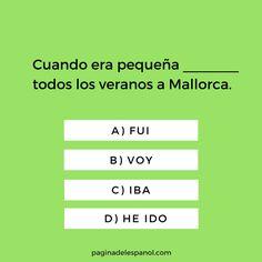Una pregunta rápida | La página del español