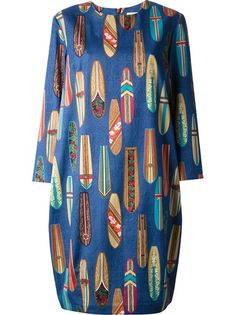 Stella Jean 'Caco' Boxy Dress