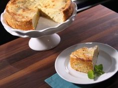 Revamp gooey butter cake with reduced-fat buttermilk and Neufchatel cheese.