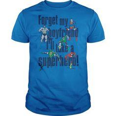 DC Forget My Boyfriend - #workout tee #tshirt headband. GET YOURS => https://www.sunfrog.com/Geek-Tech/DC-Forget-My-Boyfriend.html?68278