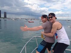 Patrick kane and Andrew shaw ッ #blackhawks.