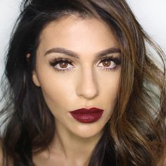 Teni Panosian-STUNNING fall makeup. In love with her beauty blog and youtube tutorials!!