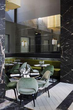 Don't miss these inspirational Restaurant Interior Design projects! www.delightfull.eu #Interiordesign #Moderndecor #Designideas