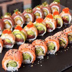"""159 Likes, 13 Comments - Sushi2500 (@sushi2500) on Instagram: """"Tjek @sweetdealdk eller www.sweetdeal.dk i morgen ❤️ #tasting #menu fra os til Jer  #tilbud…"""""""