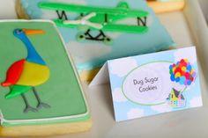 Disney's Up themed birthday party via Kara's Party Ideas KarasPartyIdeas.com Printables, cakes, invitation, cupcakes, desserts, and MORE! #disneysup #genderneutralparty #karaspartyideas (38)
