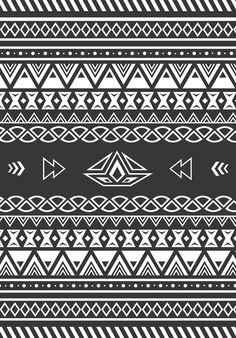 Sun of a beach towels black and white aztec pattern Tribal Patterns, Pretty Patterns, African Patterns, Aztec Wallpaper, Iphone Wallpaper, Tribal Pattern Wallpaper, Bohemian Print, Aztec Designs, Cute Backgrounds