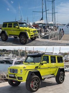 """If your dreams don't scare you, they are not big enough."" - Mike Horn. Pictures by Maxime Schmid. [Mercedes-Benz G 500 4x4² 