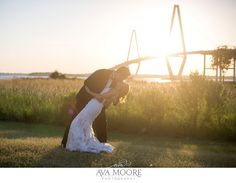 ravenel bridge Harborside East Wedding Photographer | Max & Ashley » Ava Moore Photography