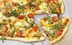 Hjemmelavet pizza smager bedst!