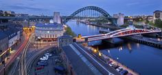 Live a unique experience in Newcastle and learn a new language with ESL Languages Abroad. Newcastle England, List Of Awards, Best Cities In Europe, Language Immersion, British Accent, English Course, Second Best, Scottish Highlands, Buckingham Palace
