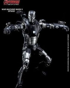 Available for pre-order @tfrobots :  Warmachine 2  #kingarts #warmachine #avengers #ironman #tfrobots #geek #collectible #toy #diecast
