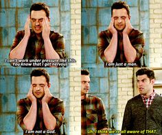 I swear Nick Miller is me. New Girl Memes, New Girl Funny, New Girl Quotes, New Girl Tv Show, Jessica Day, Tv Show Quotes, Movie T Shirts, Hey Girl, Favorite Tv Shows