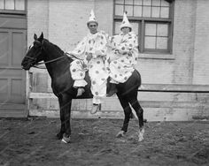 Click HERE to see my other auctions Clowns On Horse Circa 1910s 8x10 Reprint Of…
