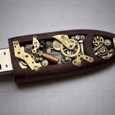 A mechanical flash drive too cool to be steampunk   TechCrunch