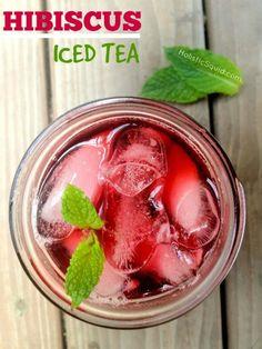 Hibiscus Iced Tea - Holistic Squid